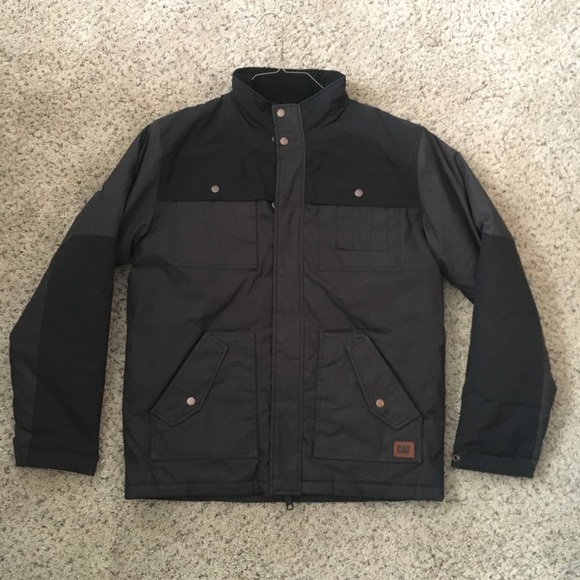 Mens Caterpillar Insulated Excursion Jacket Large